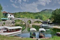 Rijeka Crnojevica montenegro Fotografia Stock Libera da Diritti