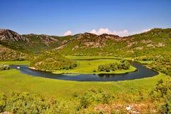 Rijeka Crnojevica in MonteNegro Stock Photos
