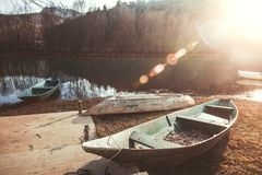 Rijeka Crnojevica Village And Bridge Royalty Free Stock Image