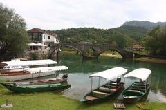 Rijeka Crnojevica village Montenegro Stock Photos