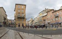 Rijeka Croacia Foto de archivo libre de regalías