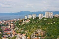 Rijeka, Croatia. Angle view of Rijeka, Croatia Stock Images