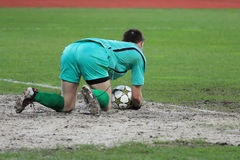 Goalkeeper Royalty Free Stock Image