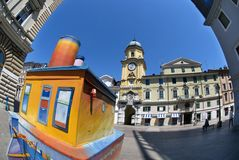 Rijeka,Croatia City Tower Royalty Free Stock Photo