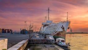 Rijeka, Croatia. 04.02.2018 Ex Yugoslav president Tito`s ship Ga stock photography