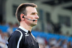 Soccer Referee Stock Photography