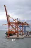 Rijeka-Hafen Lizenzfreie Stockfotografie