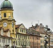 Rijeka - il Croatia Fotografie Stock