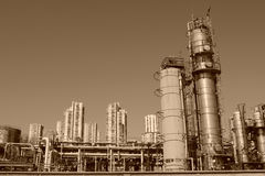 Rijeka industriale Stock Images