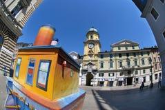 Rijeka Kroatienstadstorn Royaltyfri Foto