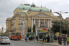 Rijeka National Theatre Royalty Free Stock Image