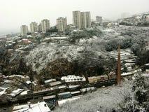 Rijeka panorama Fotografering för Bildbyråer