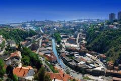 Rijeka Panorama Stock Image