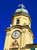 Rijeka-StadtGlockenturm sideview Lizenzfreie Stockfotografie