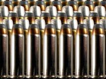 Rijen van kogels Stock Foto's