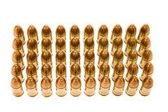Rijen van kogels Royalty-vrije Stock Afbeelding