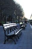 Rijen van lege stoelen Royalty-vrije Stock Afbeeldingen