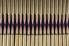 Rijen van munitie samen Royalty-vrije Stock Afbeeldingen