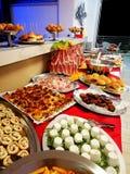 Rijk buffet royalty-vrije stock foto's