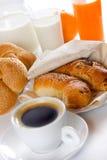 Rijk en gezond ontbijt Royalty-vrije Stock Foto's