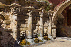 Rijk verfraaide Rimondi-fontein Stock Foto