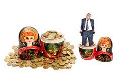 Rijkdom en armoede Royalty-vrije Stock Afbeelding
