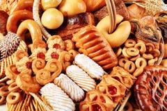 Rijke bakkerij stock afbeelding