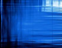 Rijke Blauwe Samenvatting Stock Afbeeldingen