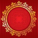 Rijke gouden ornamenten. Vector. vector illustratie