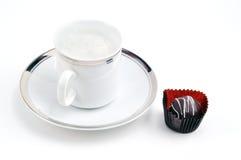 Rijke koffiepauze Royalty-vrije Stock Afbeeldingen