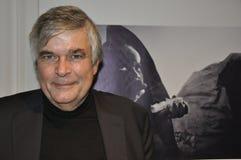 Rijke stad ZÃ ¼: Ulrich Tilgner, de speciale correspondent van ZDF en oorlog stock afbeeldingen