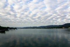 Rijke stad ZÃ ¼ in Zwitserland Stock Fotografie