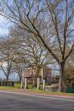 Rijke villa Kop Engels Hagen, Woerden, Nederland stock afbeelding