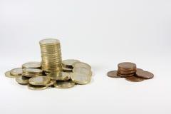Rijken en armen Royalty-vrije Stock Foto's