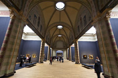 Rijksmuseum阿姆斯特丹-主要展览室 免版税库存照片