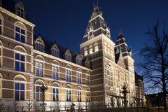 Rijksmuseum阿姆斯特丹 图库摄影