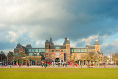 Rijksmuseum阿姆斯特丹 免版税库存图片