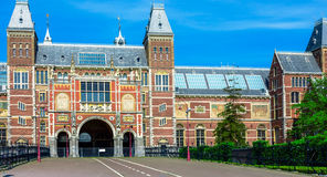 Rijksmuseum - Εθνικό Μουσείο, Άμστερνταμ Στοκ Εικόνες