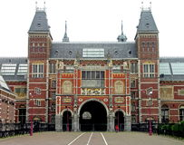 rijksmuseum του Άμστερνταμ Κάτω Χώρε& Στοκ Φωτογραφίες