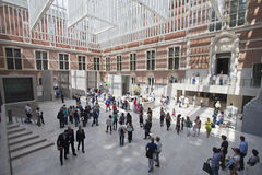 Rijksmuseum в Амстердаме Стоковое фото RF