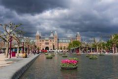 Rijksmuseum, Нидерланды Стоковое Изображение