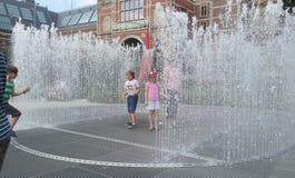 Rijksmuseum фонтана Стоковые Изображения