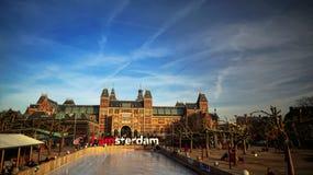 Rijksmuseum Amsterdão Fotos de Stock