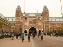 rijksmuseum amsterdam Нидерланды Стоковое Изображение