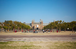 Rijksmuseum amsterdam Royalty Free Stock Photography