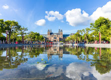 Rijksmuseum in Amsterdam Lizenzfreies Stockfoto