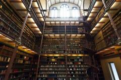 Rijksmuseum Amsterdam - biblioteca aperta di recente Fotografie Stock Libere da Diritti
