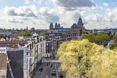 Rijksmuseum in Amsterdam Royalty Free Stock Images