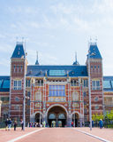 Rijksmuseum in Amsterdam Royalty Free Stock Photos