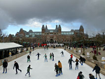 Rijksmuseum, Amsterdam royalty free stock photo